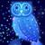 Skyblue owl