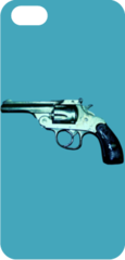 iPhoneケース/ gun