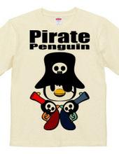 海賊ペンギン 海賊銃の海賊旗
