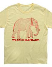 elephant -RED-
