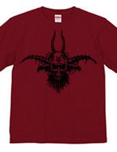 Baphomet skull Devil t-shirt