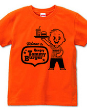 Hungry Tommy Burger-black