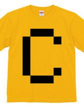 Dot Alphabet - C -