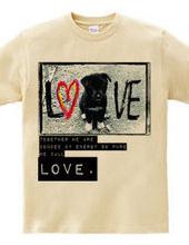 dog peace love