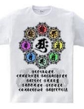 守護梵字と真言