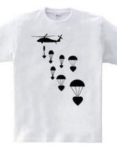 Drop love, not bombs
