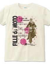 Biker girl(pink)