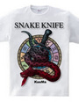 snake and knife