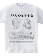 K4s形 蒸気機関車図面