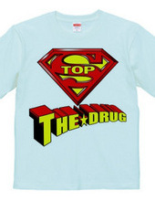 STOP THE DRUG- back RED×YELLOW