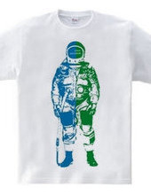 "2-tone ASTRONAUT ""Earth"""