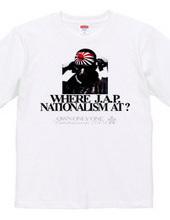WHERE JAP NATIONALISM AT?