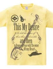 三味線Tシャツ