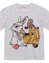 Rabbit and Vespa
