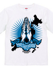 PRAY FOR EAST JAPAN BLUE