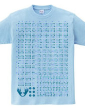 Braille dot (blue)