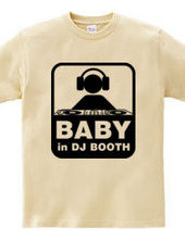BABY IN DJ BOOTH.