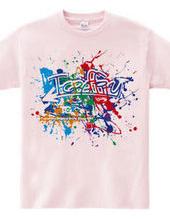 T-graffity Logo (Colorful)