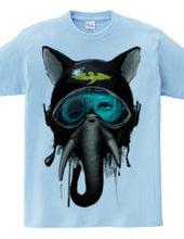 Elephant: 001-Blue-