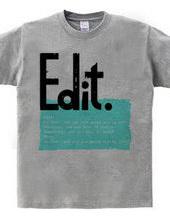 Edit. #001