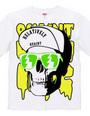 Cap Skull greenyellow