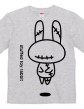 stuffed toy rabbit(浮遊01)