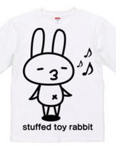 stuffed toy rabbit (mood mood)
