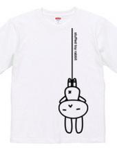 stuffed toy rabbit(吊り下げ)03:両面