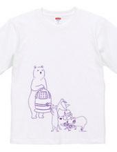 お寺座Tシャツ No.004