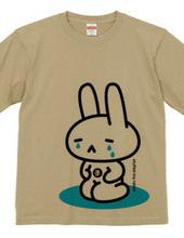 stuffed toy rabbit(泣く子供/親子マークあり)
