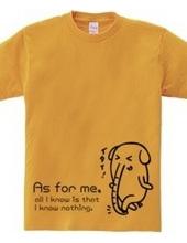 Elephant -As for me,-
