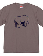 Headless elephant