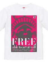 自由とピンク