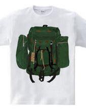 Backpack×3 green