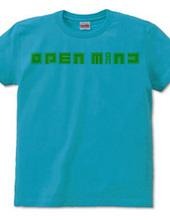OPEN MIND front logo