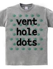 vent hole dots #HOT MINT