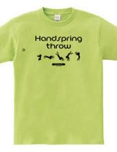 Handspring throw