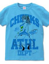チアガール CHEEKS ATHL DEPT