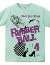 RUBBER BALL ピンナップガール