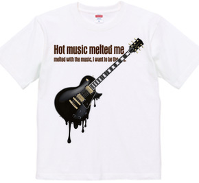 melty guitar -hottest black-