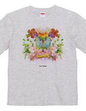 """Bon Voyage"" collage T-shirts"