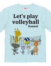 Let's volleyball!