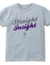 """Straight Insight"" T-shirts"