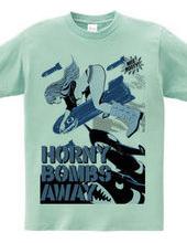 HORNY BOMBS AWAY NOSE ART GIRL