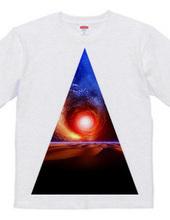 Cosmic triangle