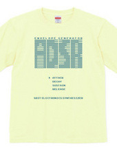 ADSR 8-bit synthesizer tee shirts