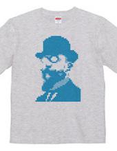エリック・サティ 8Bit Tシャツ