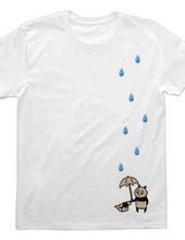 Large drops of rain