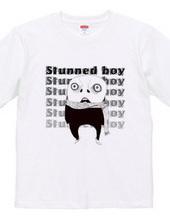 stunned boy