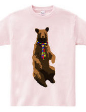 bear and necktie